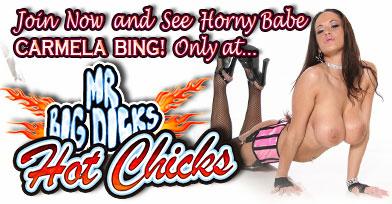 Carmela Bing wait for you at Mr Big Dicks Hot chicks