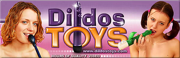 Dildostoys.com - Presenting you only the biggest dildo-lovers, who can't live a day without thrusting a dildo into their hot pussies!